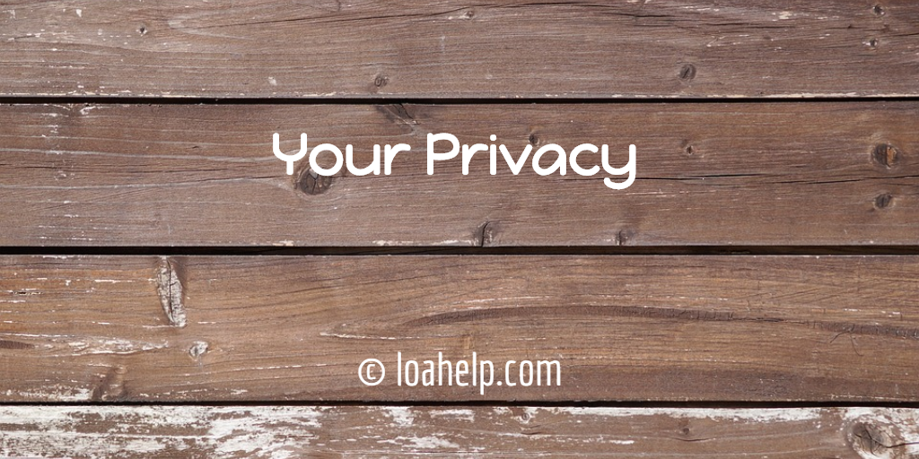 Privacy on loahelp.com